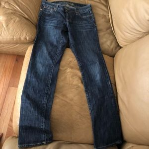 3 pairs of AE jeans